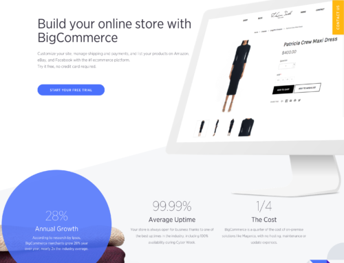 How to choose an ecommerce platform for your business, Part 4: BigCommerce